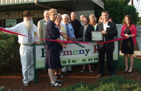 Harmony Road Oregon City Chamber of Commerce Ribbon Cutting